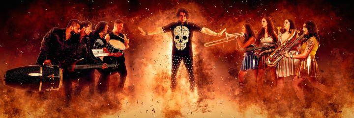 Achro battle flames